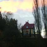 Die Villa von Osten