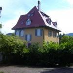 Die Villa von Südwesten
