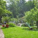 Ruheplätze im Garten