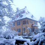 Winter in der Villa
